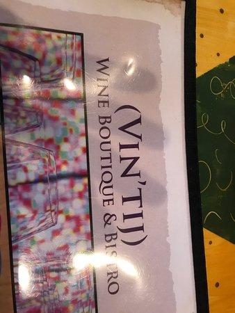 Vintij Wine Boutique & Bistro : photo0.jpg