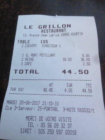 Hourtin, Frankrijk: Note salée !