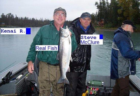 Soldotna, AK: Nice Fresh Silver Salmon