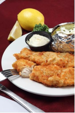 Superior, WI: Barkers Waterfront Grille All You Can Eat Fish Fry Fridays