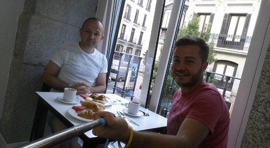 Hotel Francisco I: kahvaltı