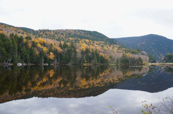White Mountains, Nueva Hampshire: When the hills admire their reflection