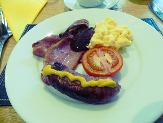 Symonds Yat, UK: Morning cooked breakfast.