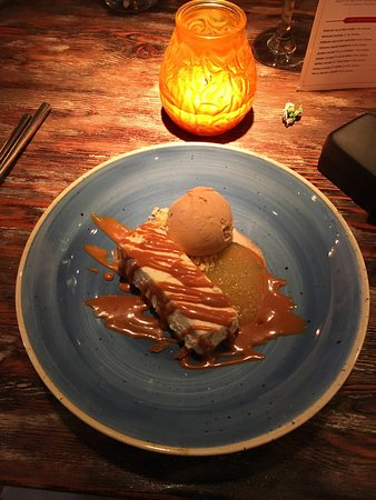 Yarm, UK: Salted Caramel Cheesecake