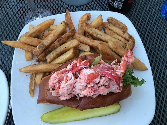 East Greenwich, RI: Lobster salad