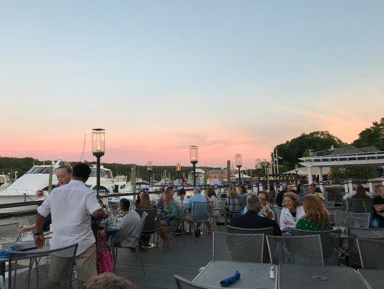 East Greenwich, RI: Outside patio