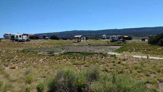 Cochiti Lake, NM: Where is the playground? Kids dissapointed.