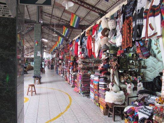 Centro Artesanal Cusco: pasillos
