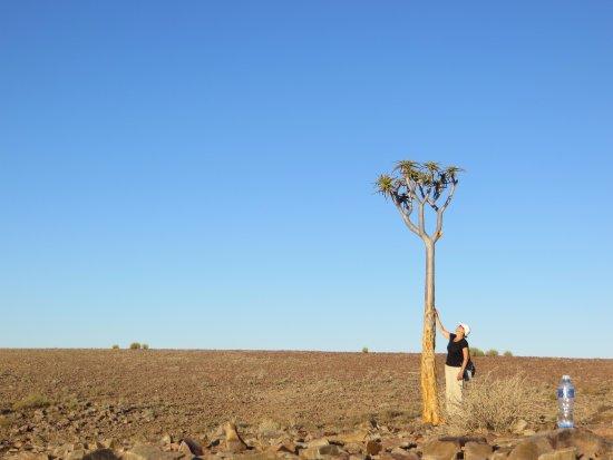 Karas Region, Namibia: Céu azul