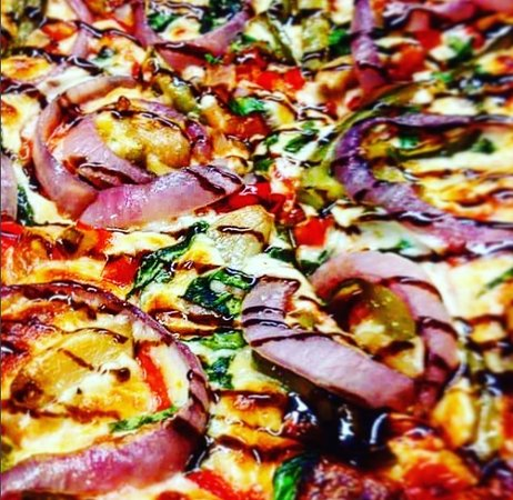 North Bay, Canada: Northern lights handmade pizza inspired by the true beauty of Northern Ontario