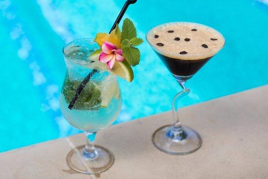 Titikaveka, Cook Eilanden: Poolside Cocktails
