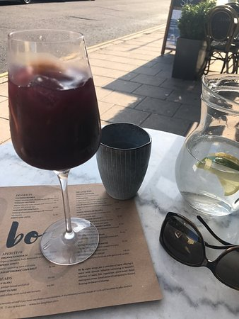 Brighton and Hove, UK: Fabulous Sangria, tapas and churros