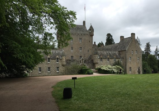 Nairn, UK: Front of Castle