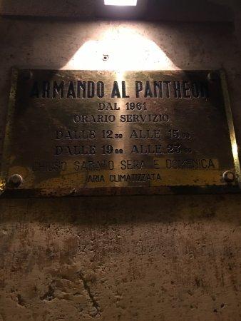 Da Armando al Pantheon: photo0.jpg