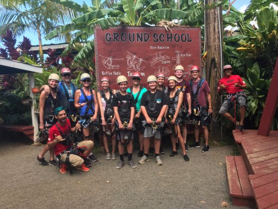Koloa Zipline: Best Guides - Brian and Cody (aka: Blue)