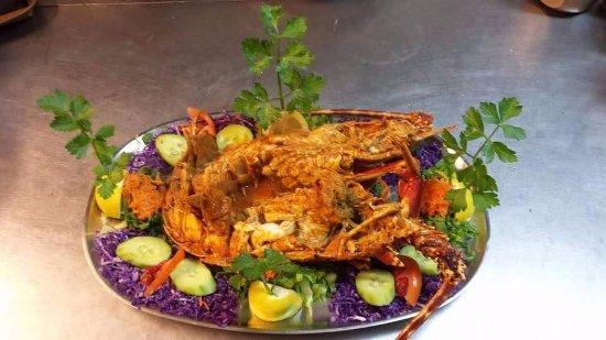 Agios Prokopios, اليونان: Lobster