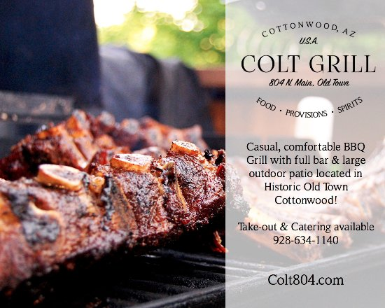 Cottonwood, AZ: Our brisket, ribs and pulled pork are hand rubbed and slow smoked 8-10 hrs