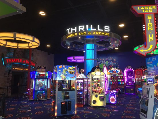 ‪Thrills Laser Tag and Arcade‬