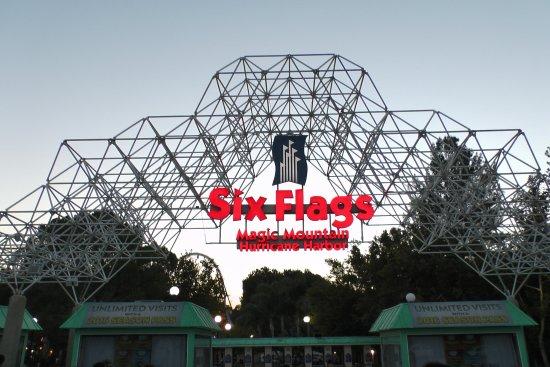 Santa Clarita, CA: Park entrance