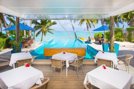 Little Polynesian Restaurant: Poolside Dining