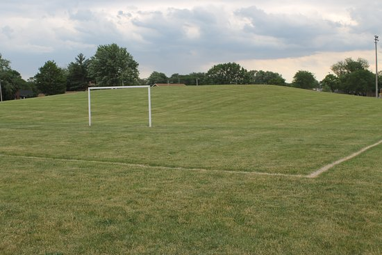 Roseville, MI: HURON pARK SCORE FEILD AND HILL IN BACK