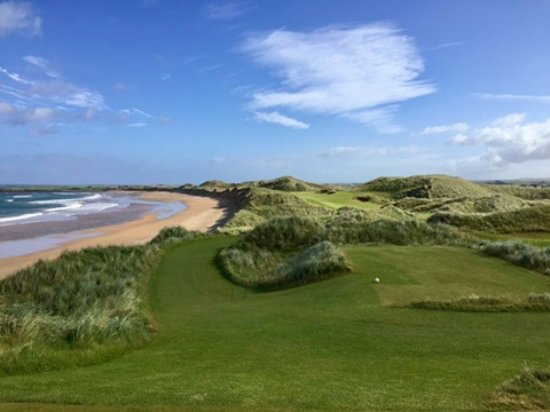 Doonbeg, Irland: Golf Course with Ocean View