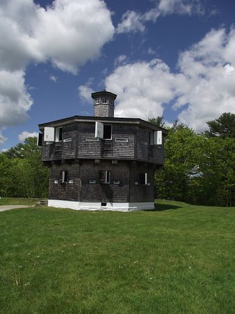 FORT EDGECOMB - EDGECOMB, MAINE - THE BLOCKHOUSE