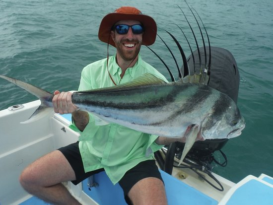 My rooster fish picture of mar 1 sport fishing quepos for My fishing advisor