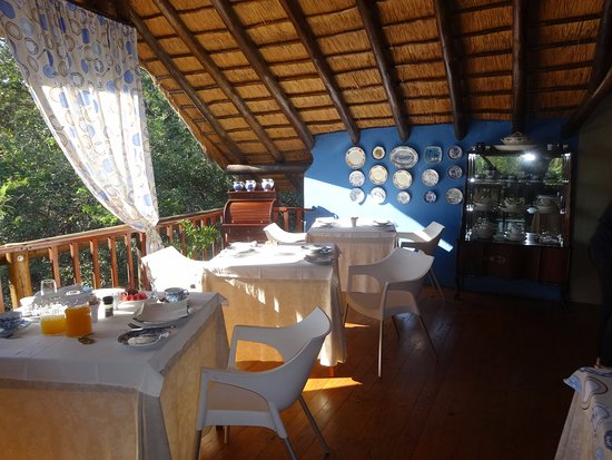 Marloth Park, Sudáfrica: Breakfast room - just lovely