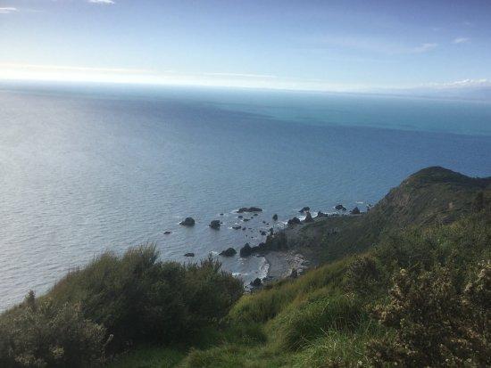 Paraparaumu, Nueva Zelanda: View at the top of the walk