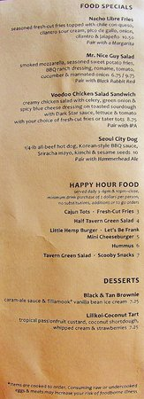 Gresham, OR : Happy Hour Menu