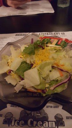 Ames, IA: side salad