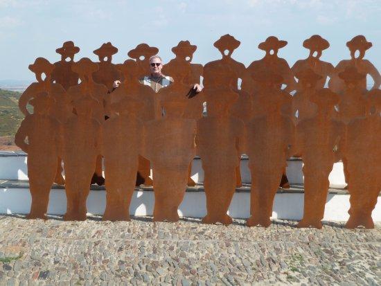 Monsaraz, Portugal: Sculpture