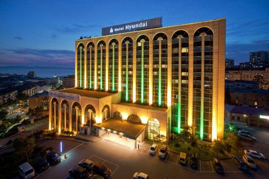 "Lotte Hotel Vladivostok: Внешний вид отеля ""Хёндэ"""