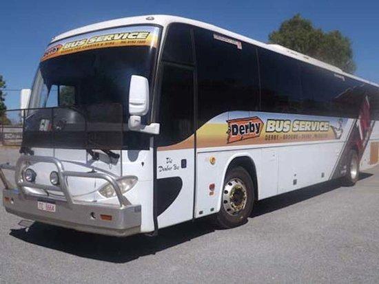 Derby, Australia: Charter Bus