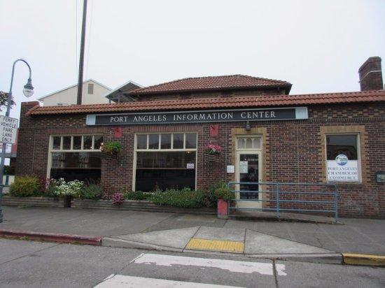 Port Angeles, WA: Entrance & Signage