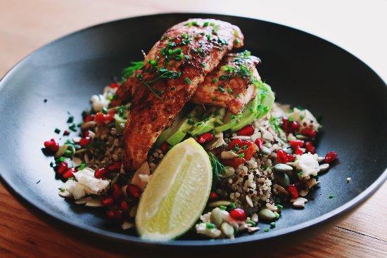 Macedon, Australia: Warm Chicken Salad
