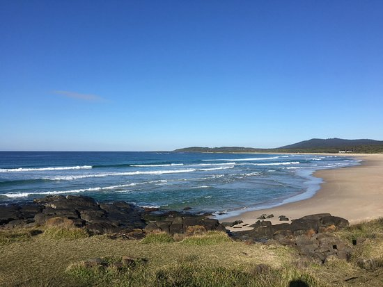 Bawley Point, Australia: Head up to the northern end of beach for a 1 1/2 hour signposted circular walk through National