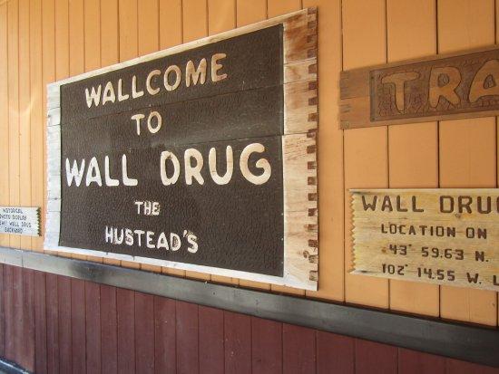 Wall, Dakota del Sur: The spot