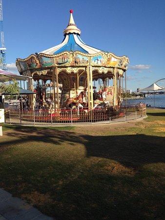 Elizabeth Quay Carousel