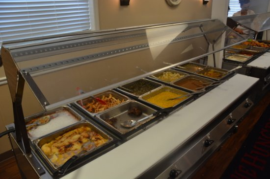 Cana, VA: Desert and Side Buffet