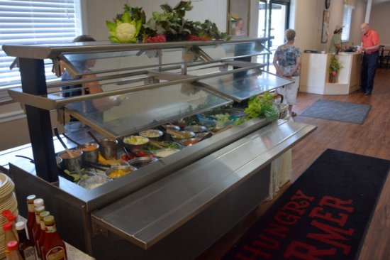 Cana, VA: Salad Bar