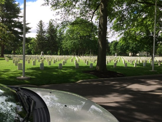 Elmira, Nova York: Woodlawn national cemetery