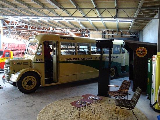 Invercargill, Nueva Zelanda: Classic bus