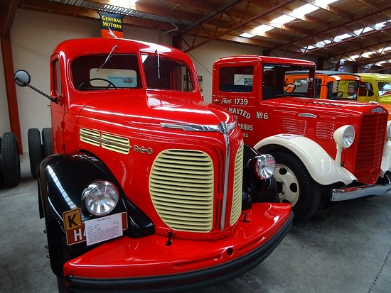 Invercargill, Nuova Zelanda: Classic trucks