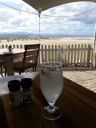 The Lemon Grass: Pre lunch local gin with all the botanicals of the cape, and tonic yumm