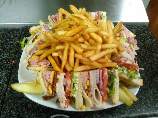 Inwood, Virginie-Occidentale : Tiki's Club Sandwich
