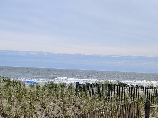 Ocean City Boardwalk: Beach View from Boardwalk