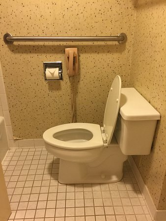 The Inn at Houndslake: Clean bathrooms, the phone next to the toilet was funny