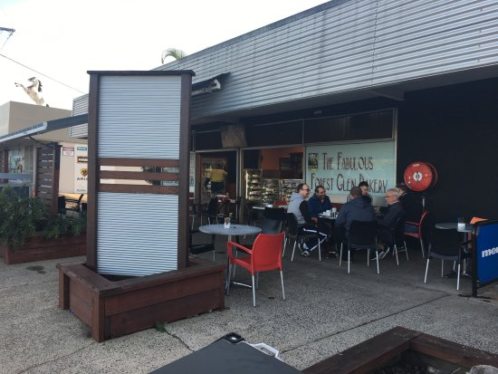 Forest Glen, Australia: outside seating
